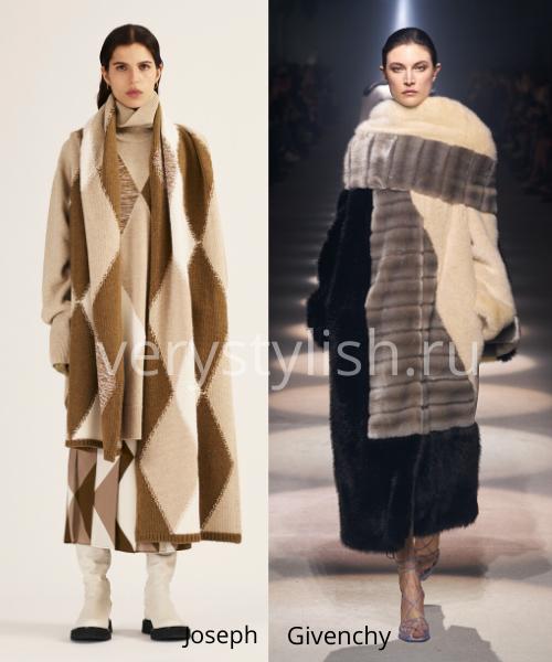 геометрический принт - модный тренд сезона осень-зима 2020/21 Фото №8