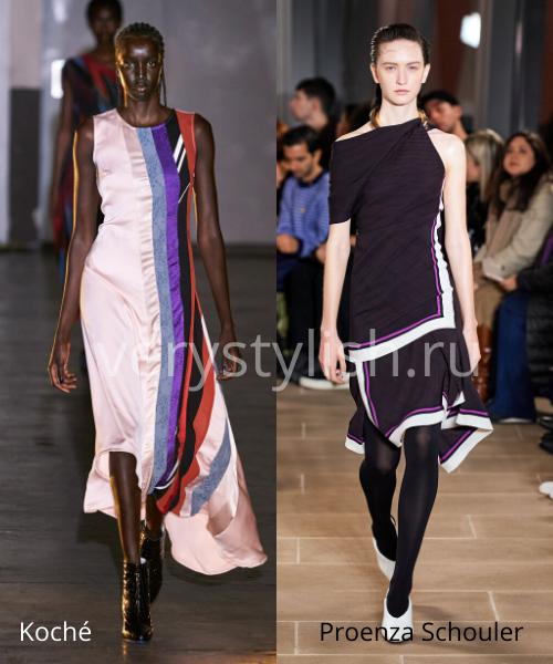 геометрический принт - модный тренд сезона осень-зима 2020/21 Фото №10