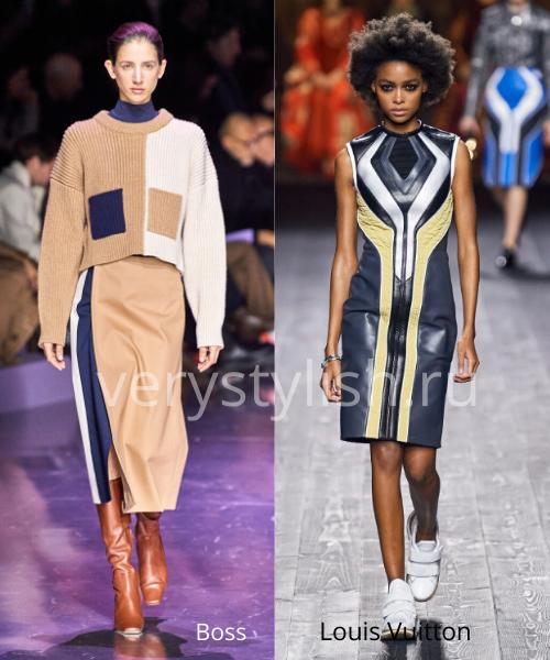 геометрический принт - модный тренд сезона осень-зима 2020/21 Фото №7