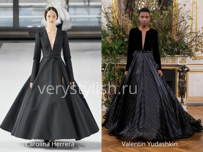 Модные вечерние платья осень-зима 2020/21. Фото № 45