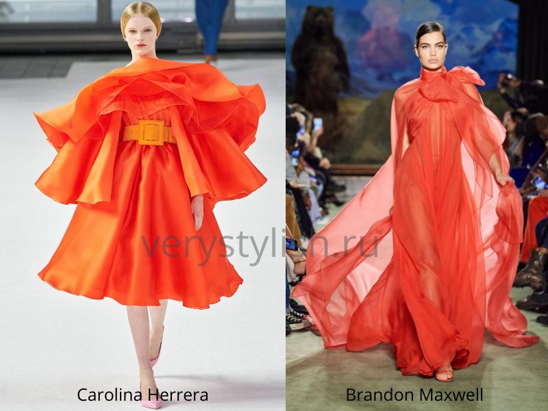 Модные вечерние платья осень-зима 2020/21. Фото № 44