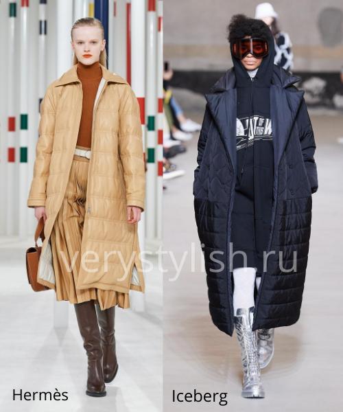 Модные куртки и пуховики осень-зима 2020/21 Фото № 14