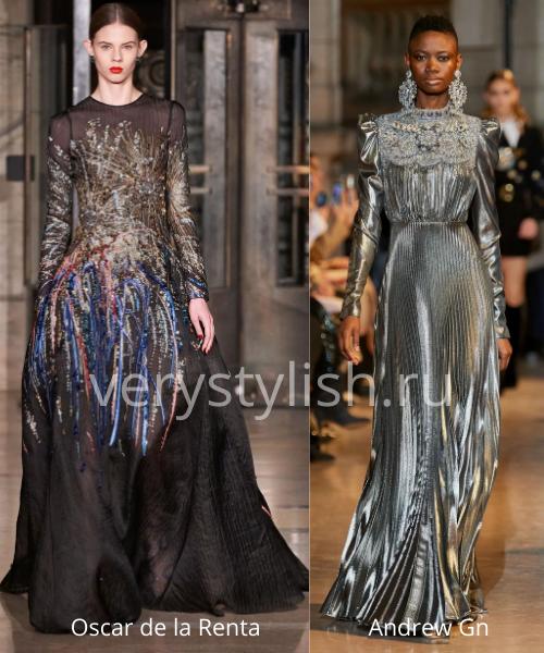 Модные вечерние платья осень-зима 2020/21. Фото № 33
