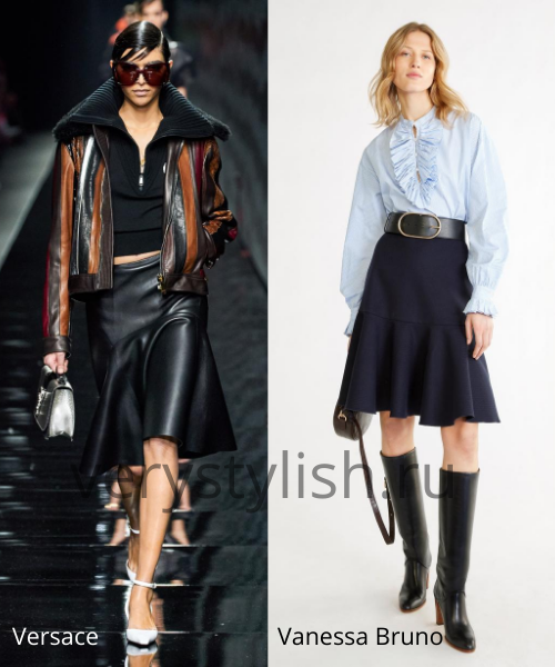 Модные юбки осень-зима 2020/21. Фото № 31