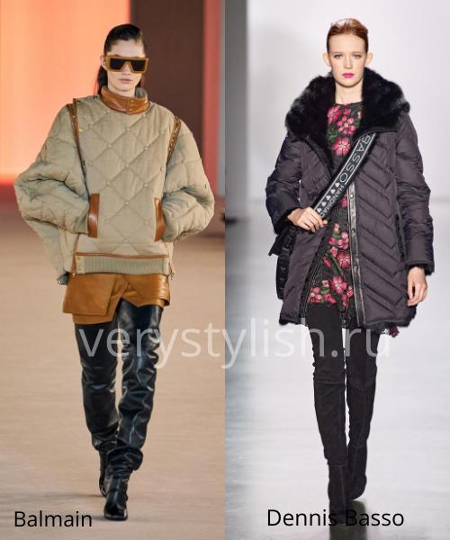 Модные куртки и пуховики осень-зима 2020/21 Фото № 15