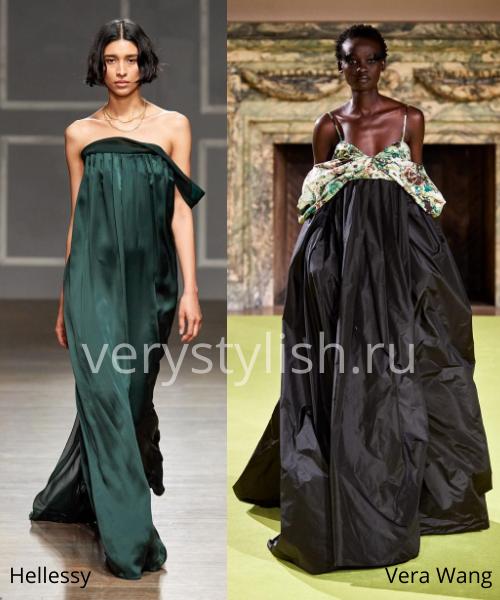 Модные вечерние платья осень-зима 2020/21. Фото № 18