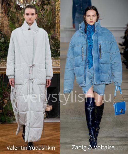 Модные куртки и пуховики осень-зима 2020/21 Фото № 16