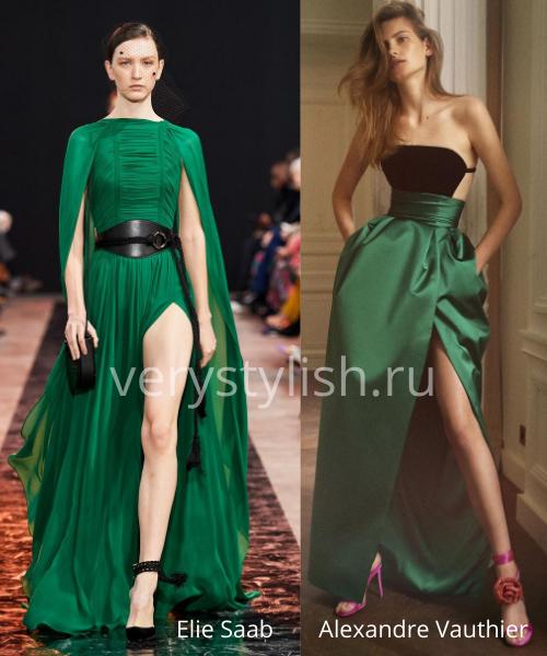 Модные вечерние платья осень-зима 2020/21. Фото № 15