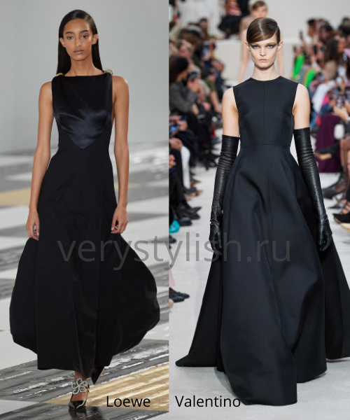 Модные вечерние платья осень-зима 2020/21. Фото № 29