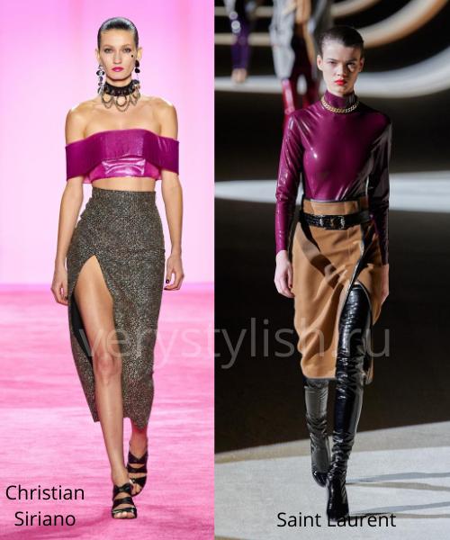 Модные юбки осень-зима 2020/21. Фото № 10