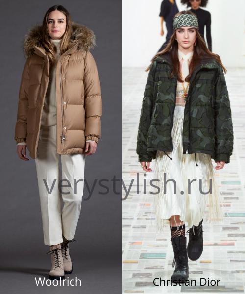 Модные куртки и пуховики осень-зима 2020/21 Фото № 17