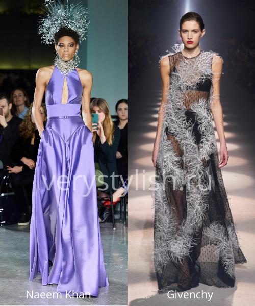 Модные вечерние платья осень-зима 2020/21. Фото № 30