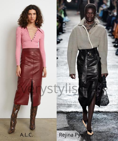 Модные юбки осень-зима 2020/21. Фото № 9