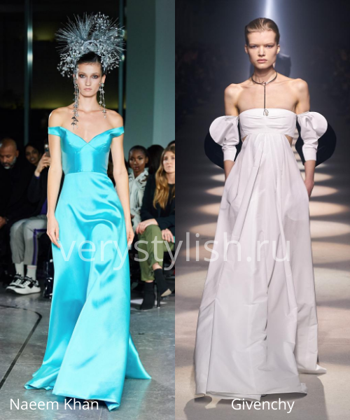 Модные вечерние платья осень-зима 2020/21. Фото № 19