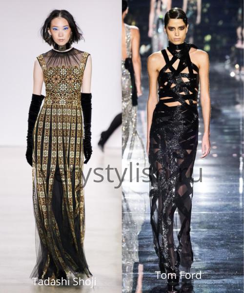 Модные вечерние платья осень-зима 2020/21. Фото № 31