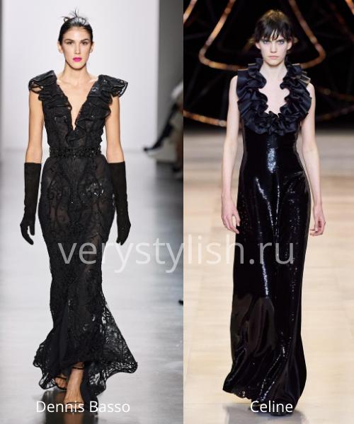 Модные вечерние платья осень-зима 2020/21. Фото № 41
