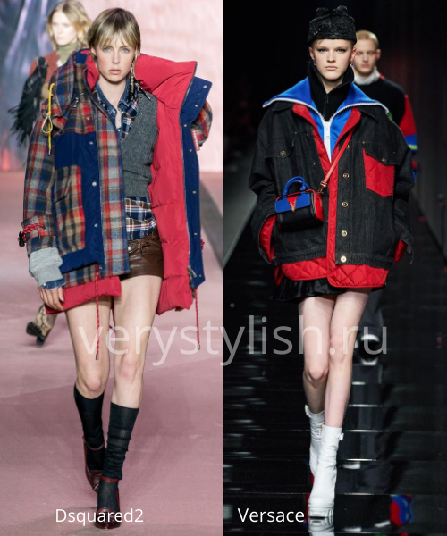 Модные куртки и пуховики осень-зима 2020/21 Фото № 21