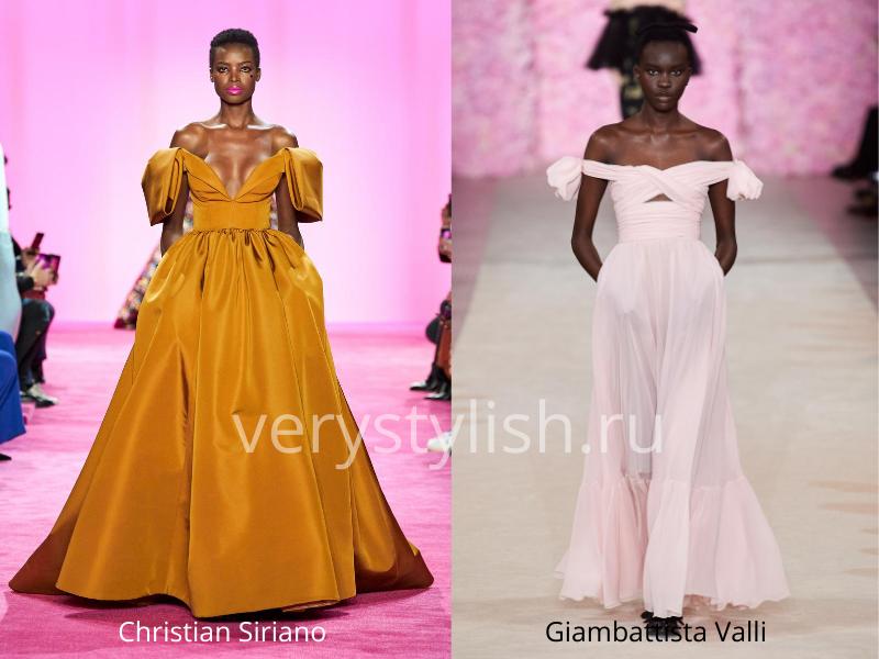 Модные вечерние платья осень-зима 2020/21. Фото № 21