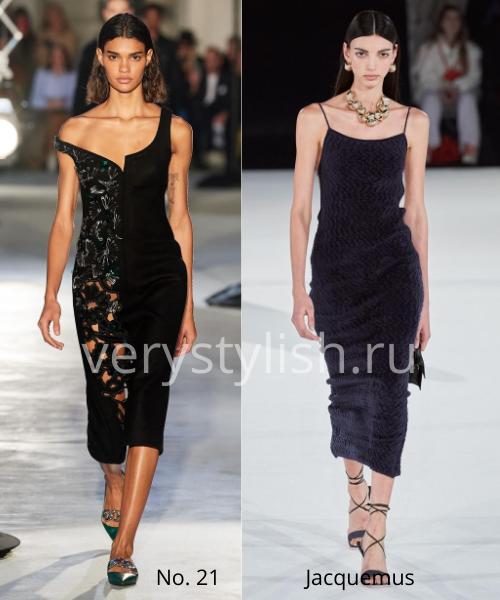 Модные вечерние платья осень-зима 2020/21. Фото № 26