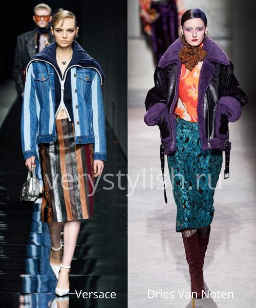 Модные куртки и пуховики осень-зима 2020/21 Фото № 2