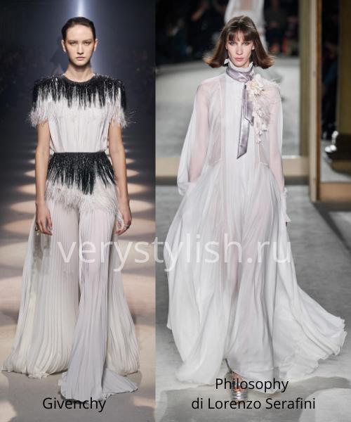 Модные вечерние платья осень-зима 2020/21. Фото № 37
