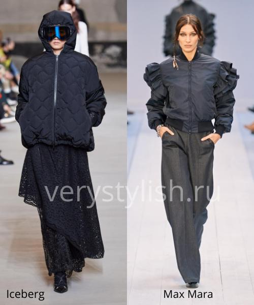 Модные куртки и пуховики осень-зима 2020/21 Фото № 22