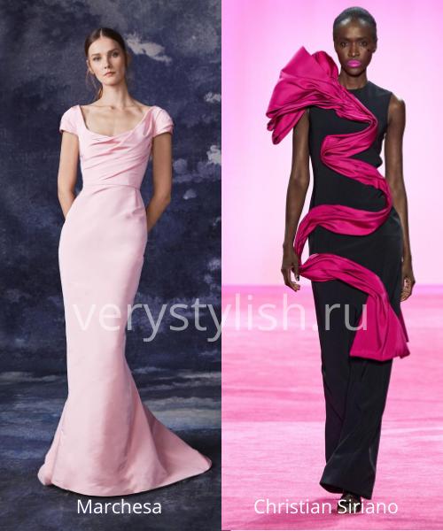 Модные вечерние платья осень-зима 2020/21. Фото № 24