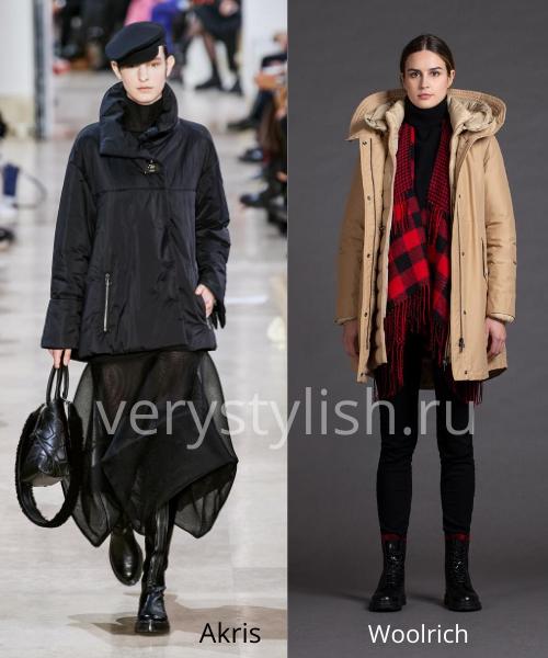 Модные куртки и пуховики осень-зима 2020/21 Фото № 19