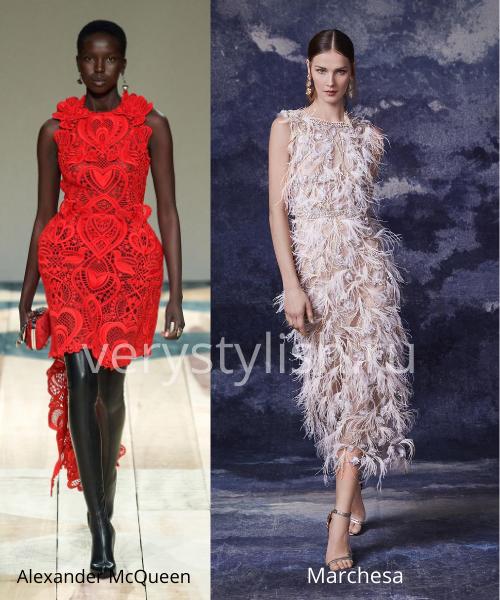 Модные вечерние платья осень-зима 2020/21. Фото № 8