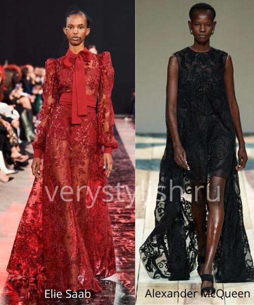 Модные вечерние платья осень-зима 2020/21. Фото № 9