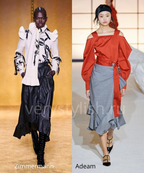 Модные юбки осень-зима 2020/21. Фото № 34