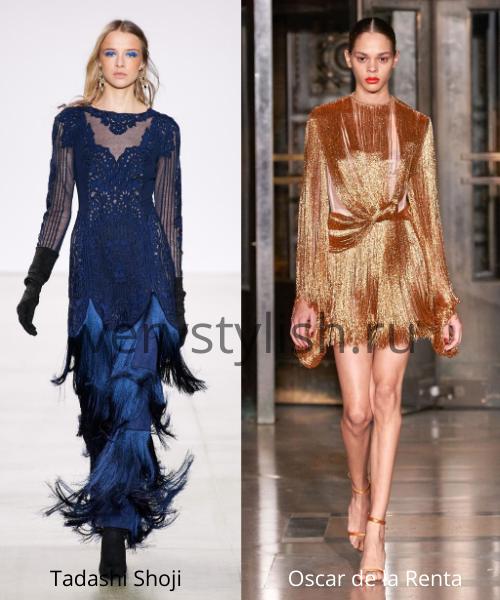 Модные вечерние платья осень-зима 2020/21. Фото № 6
