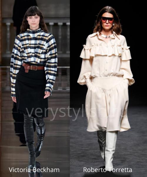 Модные юбки осень-зима 2020/21. Фото № 22