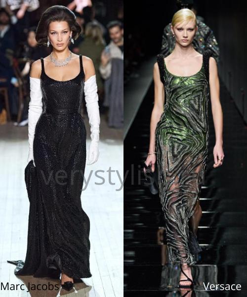 Модные вечерние платья осень-зима 2020/21. Фото № 25