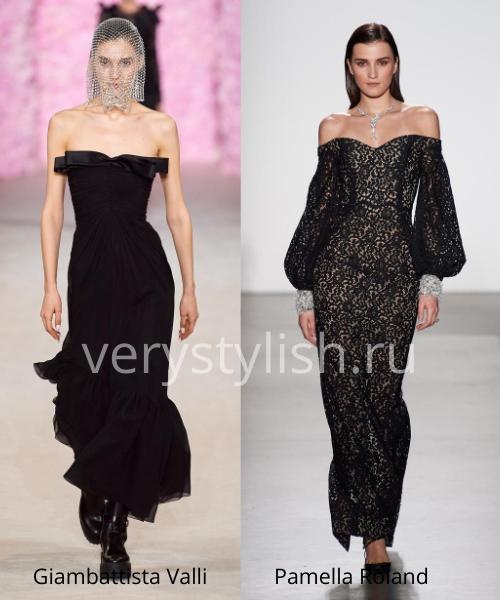 Модные вечерние платья осень-зима 2020/21. Фото № 17