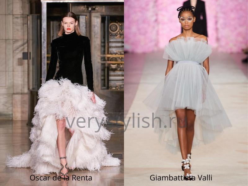 Модные вечерние платья осень-зима 2020/21. Фото № 43