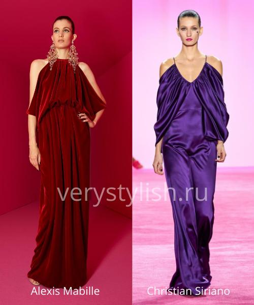 Модные вечерние платья осень-зима 2020/21. Фото № 28