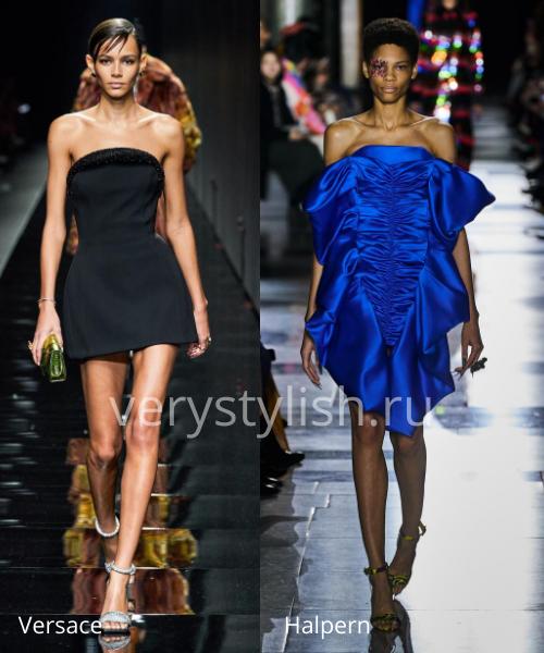 Модные вечерние платья осень-зима 2020/21. Фото № 5