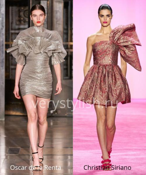 Модные вечерние платья осень-зима 2020/21. Фото № 3