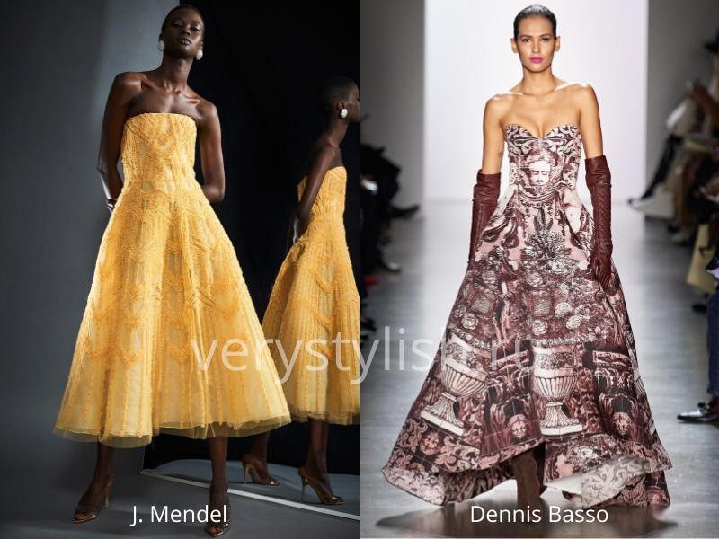 Модные вечерние платья осень-зима 2020/21. Фото № 20