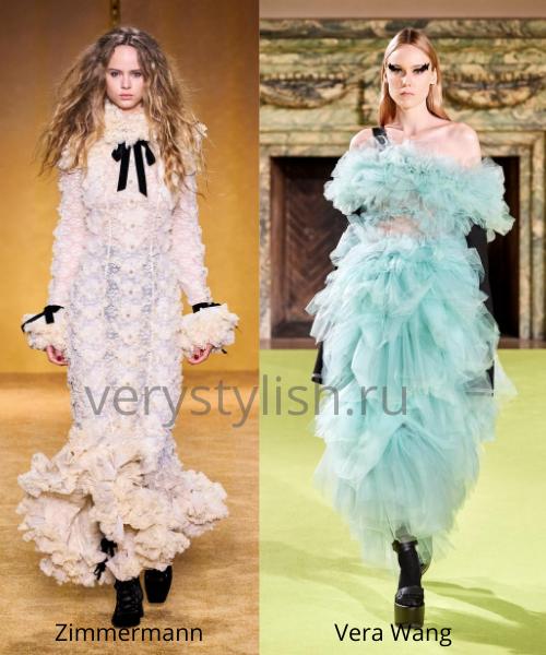 Модные вечерние платья осень-зима 2020/21. Фото № 40