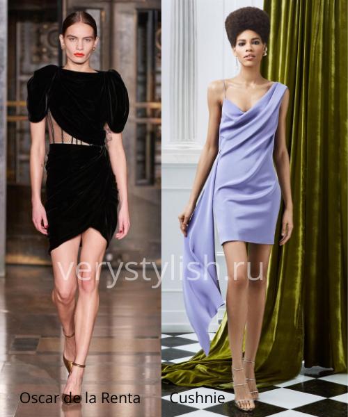 Модные вечерние платья осень-зима 2020/21. Фото № 1