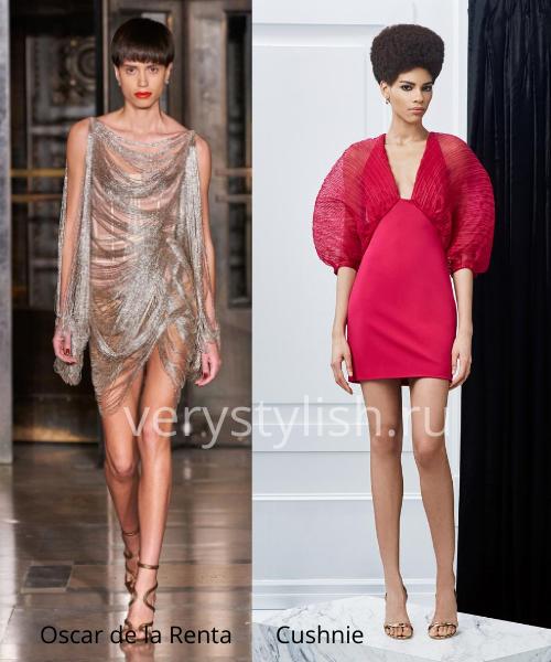 Модные вечерние платья осень-зима 2020/21. Фото № 2