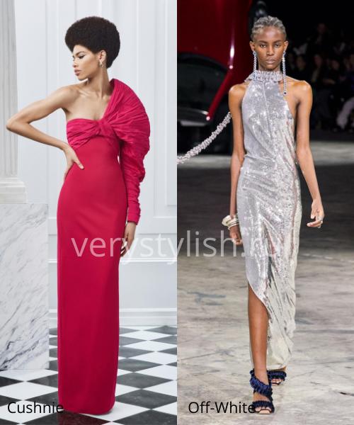 Модные вечерние платья осень-зима 2020/21. Фото № 12