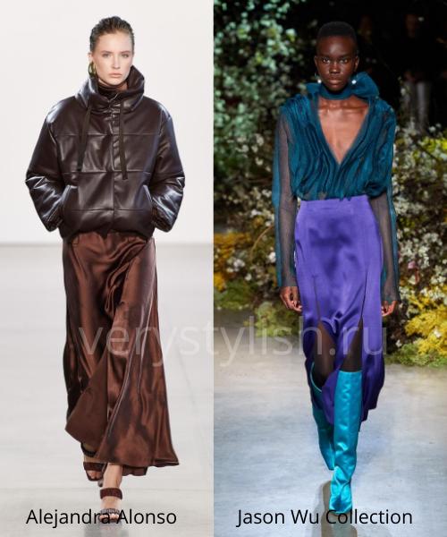 Модные юбки осень-зима 2020/21. Фото № 41