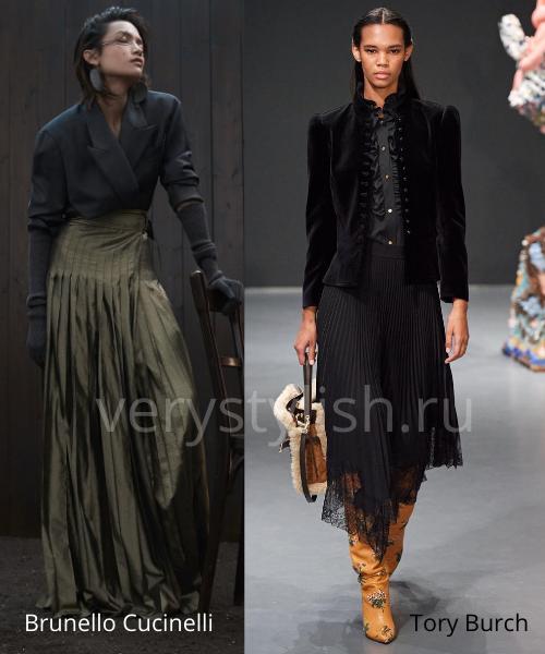 Модные юбки осень-зима 2020/21. Фото № 20
