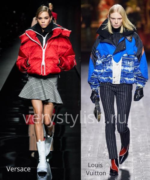 Модные куртки и пуховики осень-зима 2020/21 Фото № 1