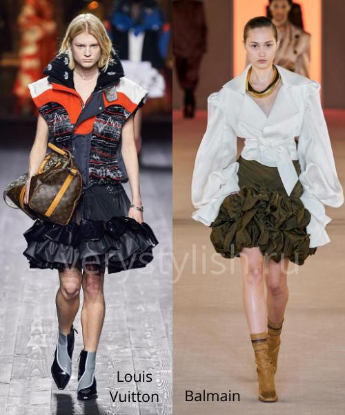Модные юбки осень-зима 2020/21. Фото № 33
