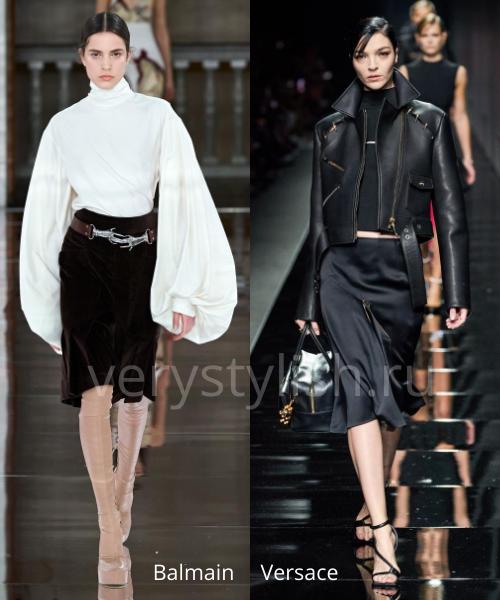 Модные юбки осень-зима 2020/21. Фото № 30