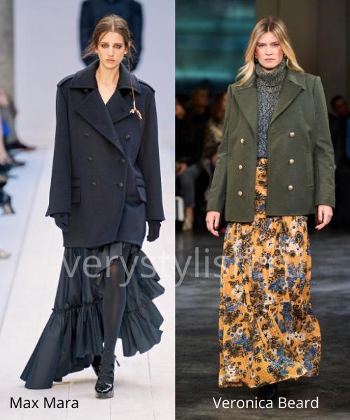 Модные юбки осень-зима 2020/21. Фото № 40